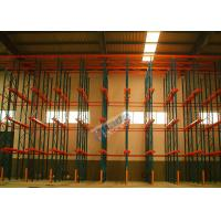 Cheap Warehouse Storage System Drive In Racking For Large Volume Identical Goods wholesale
