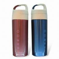 Cheap Exquisite Vacuum Flasks with Double Wall Construction, Suitable for Ladies for sale