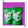 Buy cheap Ziplock Bottom Gusset Plastic Bag Packaging , Green Tea Packaging Bag from Wholesalers