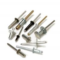 Buy cheap 4.0mm Black Blind Dome Head Aluminum Pop Rivets Large Flange Various Lengths from wholesalers