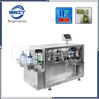 Cheap Fully Automatic Plastic Ampoule E-liquids  Forming Filling Sealing Packaging Machine with CE for sale