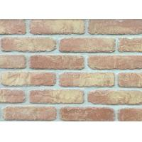 Cheap 5D20-8 Handmade Clay Thin Veneer Brick For House Building Faux Brick Wall wholesale