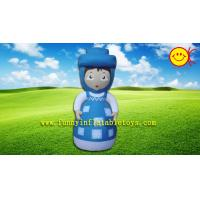 Cheap Attractive Little Girl Advertising Inflatable , Cartoon Inflatable Outdoor Decorations for sale