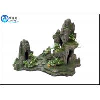 Buy cheap Popular Man-made Rockery Fish Aquarium Craft , Polyresin Mountain Aquatic Ornaments from Wholesalers