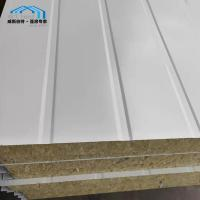 Cheap Light Weight Commercial Tent Parts Rock - Wool Sandwich Panel Wall for sale
