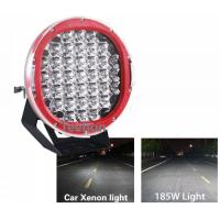 Cheap Super Bright 185W high power led work light, 9 inch CREE ARB Spot 185w led driving light for sale