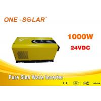 Cheap 1000W 24V Low  Frequency Solar Powered Inverter With AC Charger for sale
