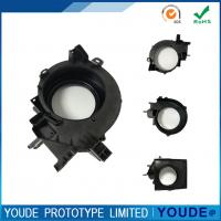 Cheap Small Batch Vacuum Casting Plastic Parts Black Color High Accuracy +/-0.05mm for sale