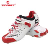 Cheap Comfortable Racing Road Cycling Shoes / Men Road Bike Shoes OEM Accept for sale