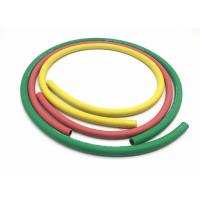 Cheap Green Yellow Red Color Two Layers Polyester Fiber Braided Rubber Air Hose for sale