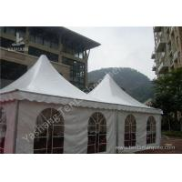 Cheap Custom UV Resistant High Peak Tents 5x5 Canopy Tent , Wind 0.3kN/M2 wholesale