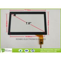Cheap 7.0 Inch Tempered Glass Projected Capacitive Touch Panel Multi Touch Screen for sale