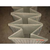 China Sand Filled Military Hesco Barriers , Hesco Bastion Gabion Barrier Wall Soldier Protection  on sale