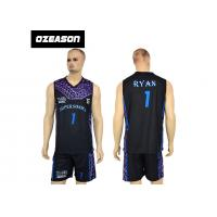 Cheap High Quality Sublimation Printing Reversible Training Basketball Uniform For Boys for sale