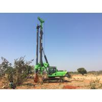 Buy cheap Foundation Hydraulic Piling Rig Machine , Borehole Pile Driving Rigs Drilling Depth 43m from wholesalers