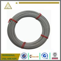 Cheap wholesale 7x19 8.0mm galvanized steel wire rope for Towing Cable, Aircraft Cable for sale