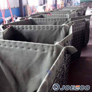 China JOESCO Rapidly deployable military Hesco barrier on sale