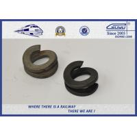 Quality Galvanize Spring Washer 38Si7 Black Oxide / Lock Flat Washers in Different Size wholesale