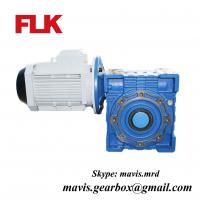 China Nmrv Worm Gearbox with Motor Reductor/Electric Motor with Reduction Gear on sale