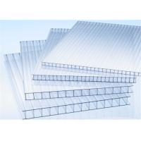 Cheap 6mm TwinWall Tinted Polycarbonate Sheet Roof with Uv protection for sale