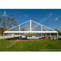 Cheap Clear PVC Fabric Top Aluminum Alloy Outdoor Luxury Wedding Tents wholesale