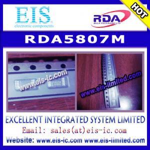 China RDA5807M - RDA - SINGLE-CHIP BROADCAST FM RADIO TUNER - Email: sales009@eis-ic.com on sale