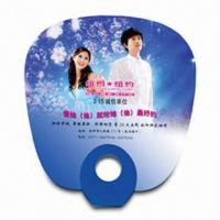 Cheap Hand Fan for Promotional Purposes, Made of PP, Various Styles and Colors are Available for sale