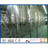 Cheap Beverage Manufacturing Soft Drink Making Machine , Soft Drink Plant Machinery for sale