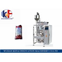 Cheap KEFAI big bag automatic liquid packing machine price chili sauce filling and sealing bag machine for sale