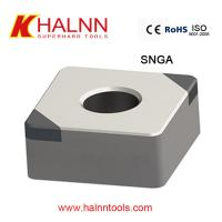 Cheap Halnn CBN inserts used for finish turning hardened steel with BN-H10 Grade for sale