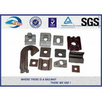 Quality High Tensile Oiled Black Railroad Clips And Fasteners With Q235 Steel Material wholesale