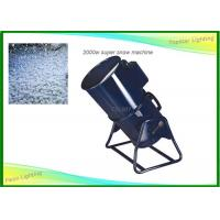 Cheap Outside / Indoor Special Effects Machines , Manual Control Artificial Snow Machine for sale