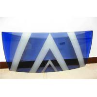 Cheap Tempered Screen Printed Glass , Sound Proof Curved Toughened Glass for sale