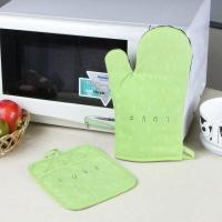 Cheap Promotional Customized Pattern Kitchen Cooking Oven Mitts And Pot Holders With Neoprene Oven Mitt for sale