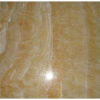 Honey Onyx Stone : Honey onyx tile with certificate of natural stone