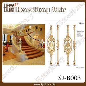 Cheap Luxurious Casting Aluminum Balustrade for Hotel (SJ-B003) for sale