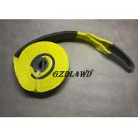 Cheap 100% Polyester Truck Snatch Strap Towing Heavy Duty Custom Pickup Truck for sale