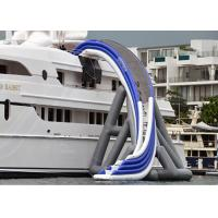 Cheap Commercial Grade Inflatable Water Slide, Inflatable Yacht Ship Slide for sale