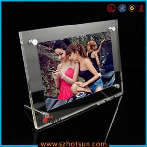 Cheap acrylic photo strip frames/ acrylic photo frames 4x6 for sale