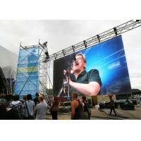 Cheap Lightweight Outdoor Stage Led Display HD 4.81mm Pixel Pitch With Vivid Display Effect for sale