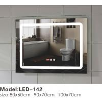 China Unusual Touch LED Bathroom Mirror , Illuminated Frame Mirror Variety Sizes on sale