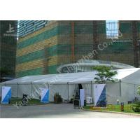 Cheap 20x35M Large Canopy Tent With Sidewalls , Outdoor Party Marquee Soft Pvc Fabric Cover for sale