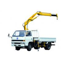 Buy cheap XCMG SQ1ZK2 Knuckle Boom Truck Mounted Crane , 1400kg Wire Rope Raise for Sales from wholesalers