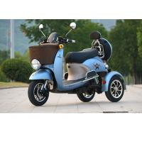 Cheap electric tricycle 3 wheel scooter Charging Time 6-8h TRange Per Charge 40-60km Old man scooter folding electric bicycle for sale