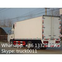 factory selling 4x2 35cbm 10ton jac refrigerator box truck, high quality and competitive price 5-8ton refrigerated tuck