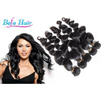 Cheap 20 Inch Peruvian Human Hair Extensions Loose Wave Weave Human Hair for sale