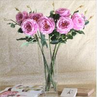 China Wholesale Long Stem Artificial Silk Roses on sale