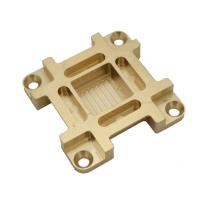 China High Precision Automotive Brass CNC Machining Parts Customized Size  100% Inspected on sale