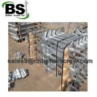 Cheap high quality hot dipped zinc coating of square shape helical piers for sale