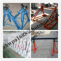 Cheap Cable drum trestles, made of cast iron,Jack towers,Cable Drum Lifting Jacks for sale